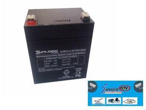 Bateria recargable 12v / 4.5ah ups energizador alarma cercos