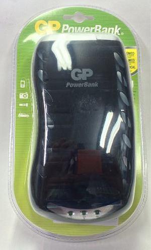 Cargador múltiple gp baterías recargables c d aa aaa 9v