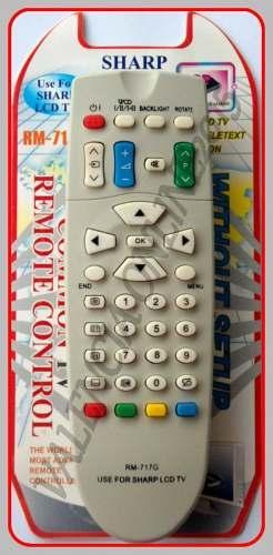 Control remoto tv sharp aquos quatton lcd led nuevo.!!!