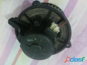 Motor de la consola del aire o soplador