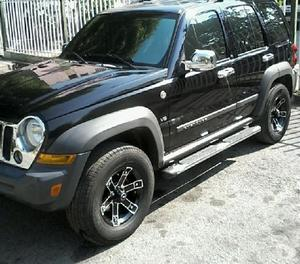 jeep cherokee sport 2007 sincrónica 4x4