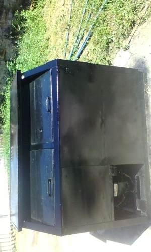 Refrigerador de 2 puertas acero inoxidable