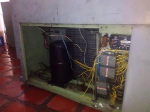 Aire acondicionado 10 toneladas tipo split gabinete