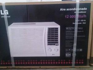 Aire acondicionado lg ventana sin control 12000 btu