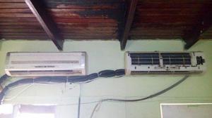 Aire acondicionado split 12000btu de 2 consolas oferta