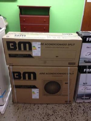 Aire acondicionado split bm 12000 btu decorativo somostienda
