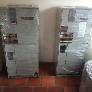 Aires de 5 toneladas split o tipo gabinete marca trane