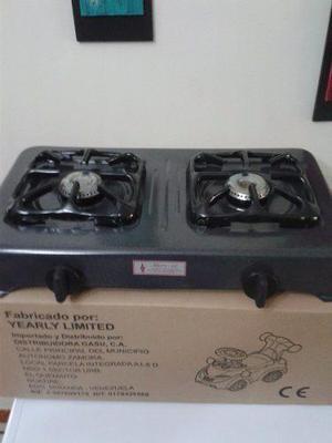 Cocina gas 2 hornillas clasf for Cocina 02 hornillas