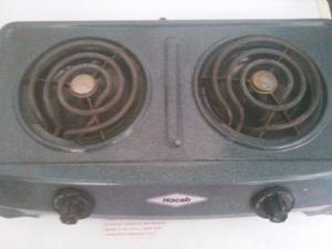Cocina eléctrica 2 hornillas gris marca haceb