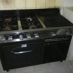 Cocina industrial 4 hornillas
