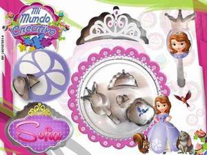 Cortador de accesorios de princesa sofia reposteria