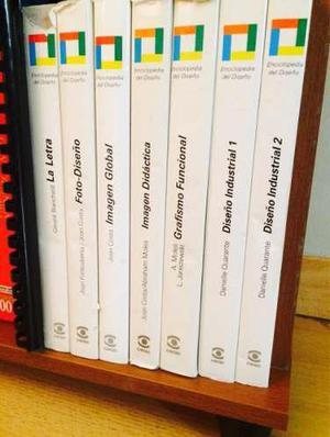 Diseño gráfico/ enciclopedia de diseño de 7 tomos