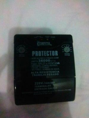 Protector para aires acondicionados split o ventana 220volt