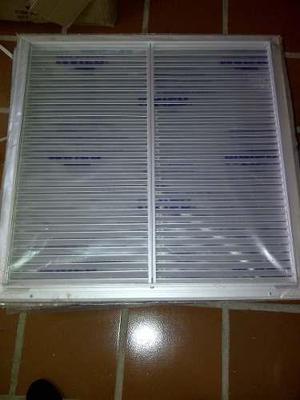 Rejillas retorno 24 x 24 aire acondicionado central