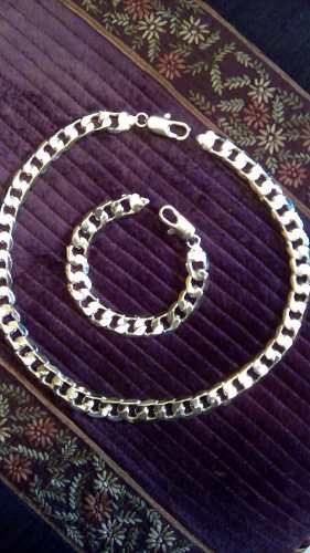 29d023ac5755 Cadena + esclava plata ley 925 nuevas
