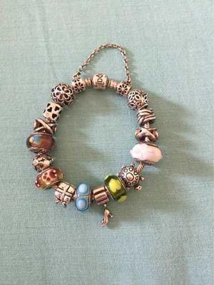 06dc67875391 Pandora pulsera original con sus charms remate!