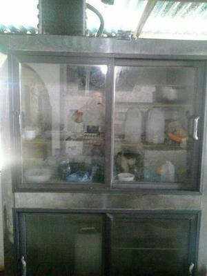Refrigerador exhibidor 4 puertas