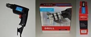 Taladro para pared y madera marca drill