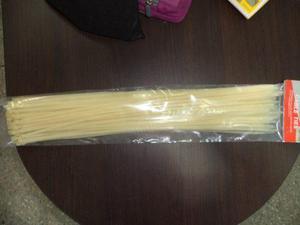 Tirraje precinto amarre plastico 4.8x500 mm paq 100 unid