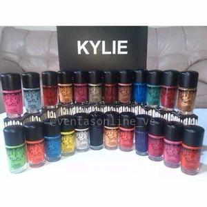 Pinturas de uñas kylie mac