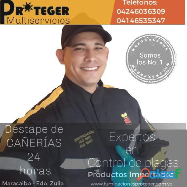 Somos Expertos en el Destapado de Cañerías en Maracaibo
