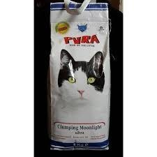 Arena pura para gatos 5 kg lecho sanitario