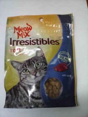 Galletas para gatos meow mix