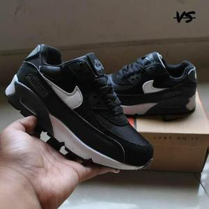 Zapatillas nike air max 90 leather para niños t 35 38 ndpj