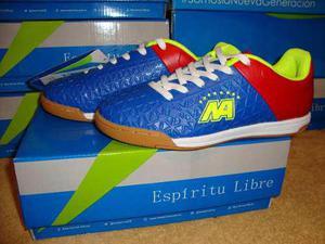 Zapatos futbol sala para niños new arrival liquidacion