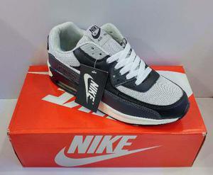 Zpt nike air max 90. tallas 40-45. gris/ negro. 4 modelos.