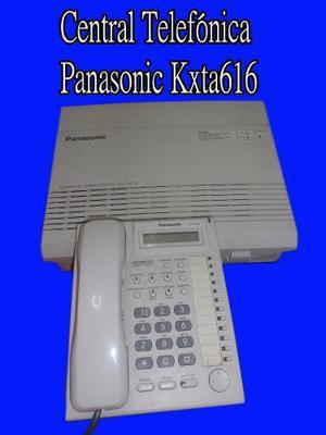 Central telefónica panasonic kxta616+ telefono central