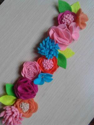 Coronitas de flores para bebes, niñas y mamis