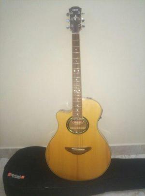 Guitarra yamaha electroacústica apx 700 de zurdos c/ gig