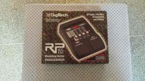 Pedalera de guitarra digitech rp 155