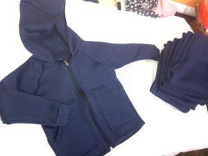 Sueter escolar azul marino con sin capucha cierre talla 0a10 5848a1e053c2