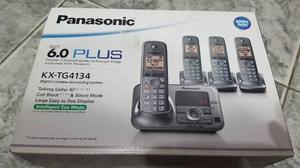 Panasonic 6.0 plus kt-tg4134 telefono inalambrico contestado