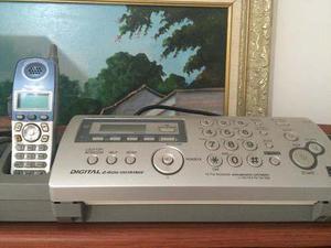 Panasonic teléfono inalámbrico y fax kx-fg2451