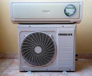 Aire acondicionado split 9000 btu marca frigilux 220v