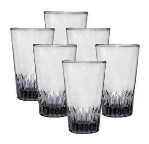 Caja de 36 vasos de vidrio triana 10 oz envio gratis