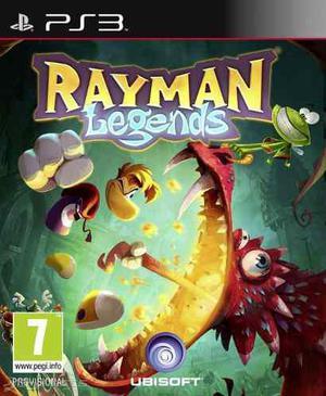 Rayman legends ps3 disco nuevo y sellado somos tienda fisica