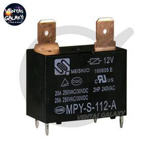 Relé (relay) mpy-s-112-a para aires split o neveras meishuo