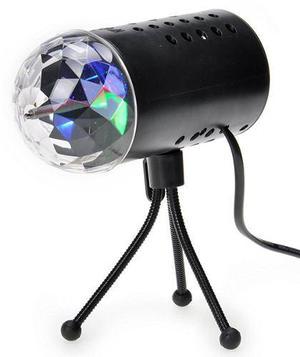 3w rgb mini auto led proyector rotatorio dj, fiestas, etc