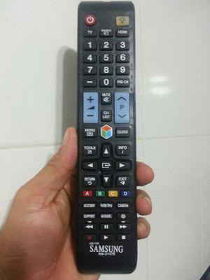 Control de tv samsung smart tv led y lcd con luz