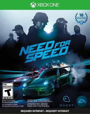 Juego need for speed 2015 pc / xbox one / ps4 multiplayer