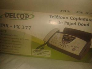 Fax 377 delcop + marcadores-bolígrafos. combo oficina