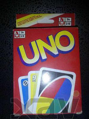 Juego de cartas uno para niños juego de mesa o. 3123 xavi