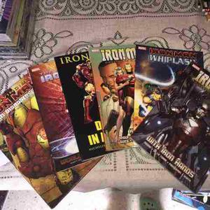 Marvel comics en fisico coleccion iron man nuevos