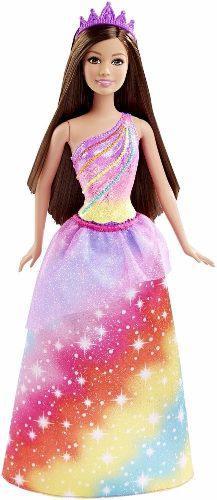 Muñeca barbie princesa arcoiris dreamtopia mattel