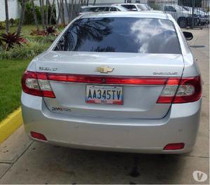 Chevrolet epica 2010 blindado