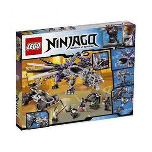 Lego ninjago dragón mecánico nindroide 691 piezas 70725